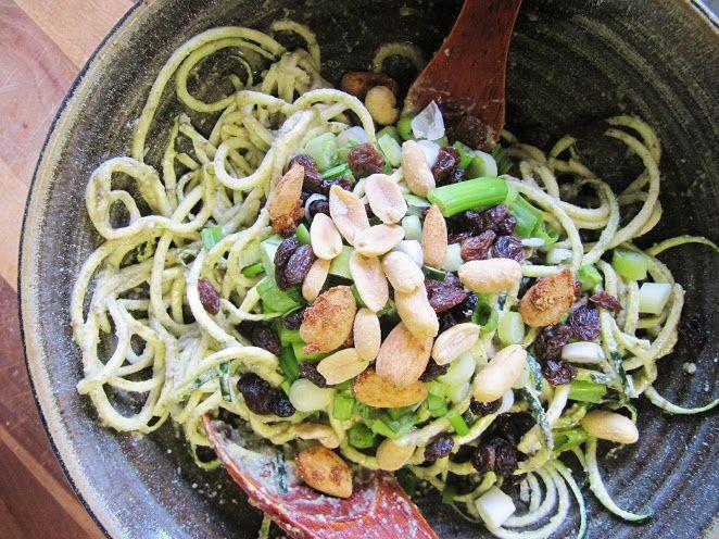 Pumpkin Seed Garlic Pasta - This Rawesome Vegan Life