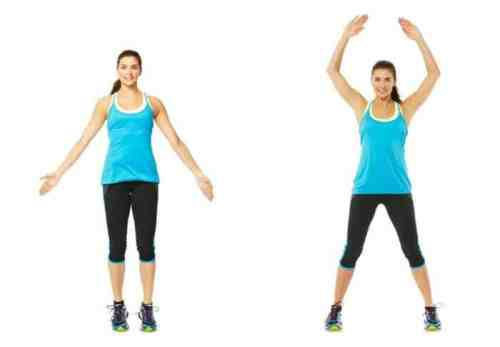 Bodyweight Cardio Circuit - Jumping Jacks