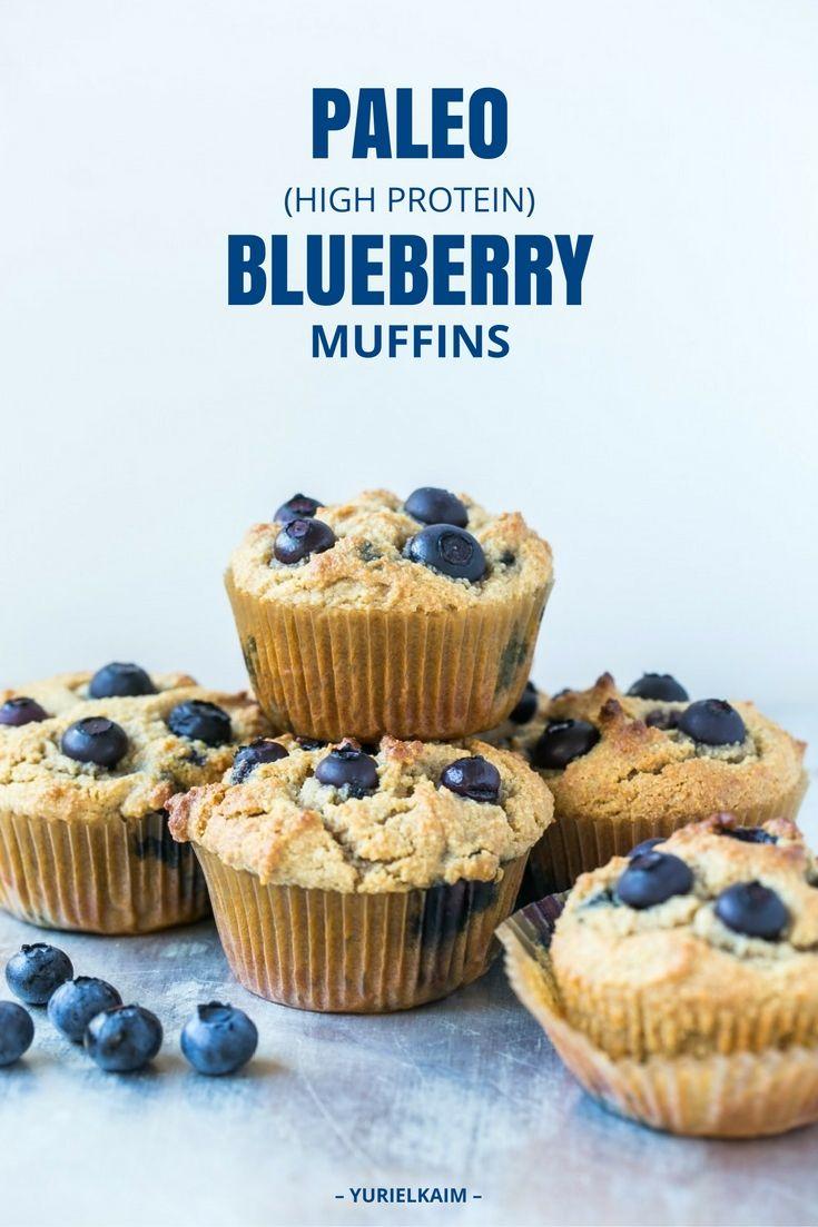 High Protein Blueberry Muffins Recipe