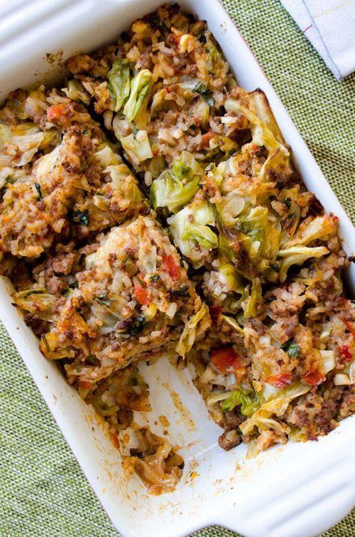 Unstuffed Cabbage Casserole via Give Recipe