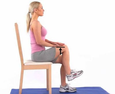 Exercises to Strengthen Knees - Knee Marching