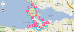 SeaWheeze GPS Route