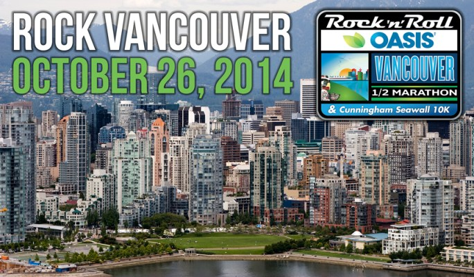Rock 'n' Roll Oasis Vancouver Half Marathon and 44th Annual Cunningham Seawall 10K