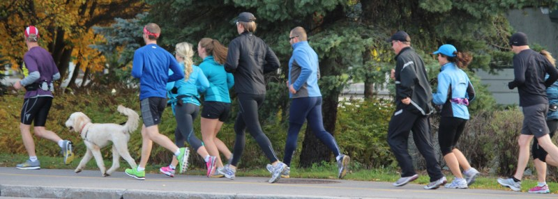 A 'running team'