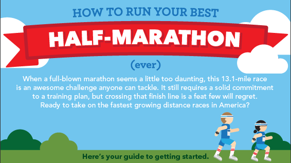 How to Run Your Best Half-Marathon [Infographic]