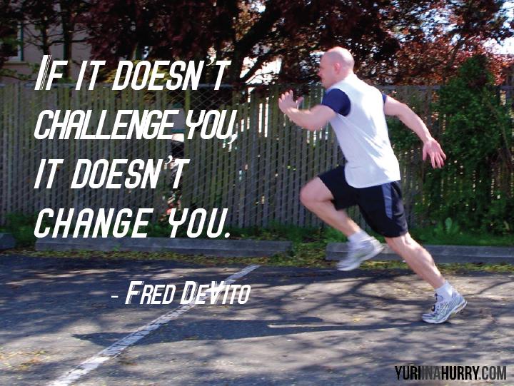 Inspiration: Challenge = Change