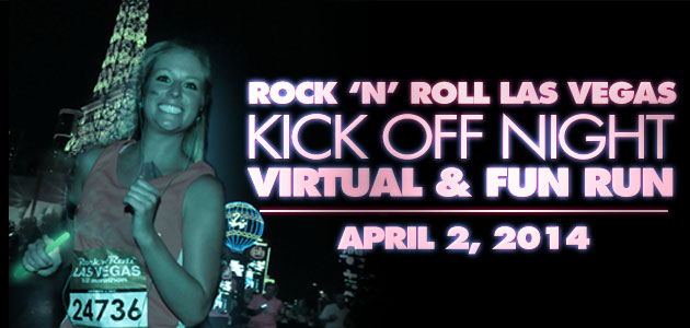 Rock 'n' Roll Las Vegas Kick Off Night 5K Fun Run