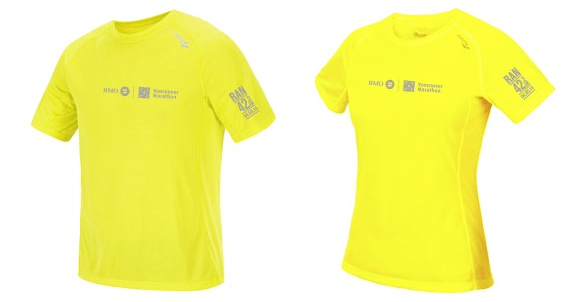 2014 BMO Marathon Finishers Shirts
