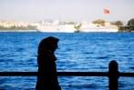 Yuri Martins Fontes / Turquia-2007 / Istambul: Estreito de Bósforo / Vista da Anatólia (lado asiático) desde a Trácia (lado europeu)
