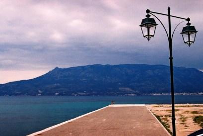 Yuri Martins Fontes / Grécia - 2007 / Corinto: Casal em região do porto