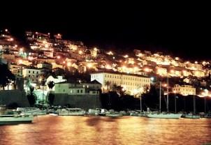 """Yuri Martins Fontes / Croácia-2007 / Dubrovnik: A noite da """"Pérola do Adriático"""", região do porto."""