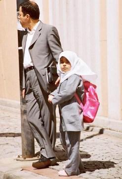 Yuri Martins Fontes / Turquia-2007 / Istambul-Trácia: Pai e filha.