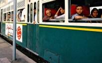 Yuri Martins Fontes / Egito-2007 / Cairo: Trem suburbano