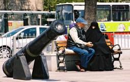 Yuri Martins Fontes / Turquia - 2007 / Istambul (Trácia): Papo de casal