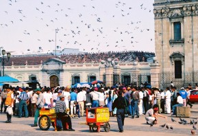 Yuri Martins Fontes / Guatemala-2002 / Cidade da Guatemala: Praça Central
