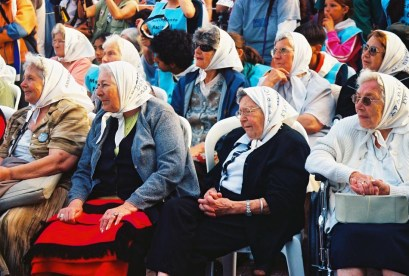 Yuri Martins Fontes / Argentina-2004 / Buenos Aires: Encontro semanal das Madres de la Plaza de Mayo