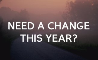Need a change this year?