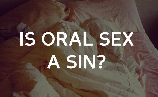 Is oral sex a sin