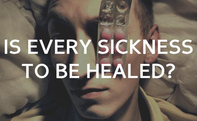 sickness healing