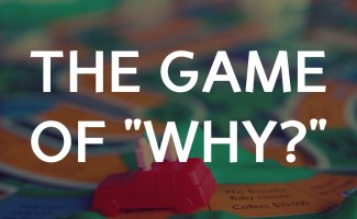 """The """"Game of Why"""": how kids are the smartest of us all and everything leads to God."""