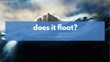 Was there a Global Flood like in the film Noah? The Impossible Journey of the Ark