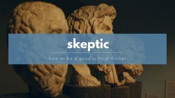How to be a good skeptic