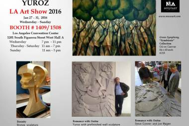 Yuroz at LA Art Show 2016