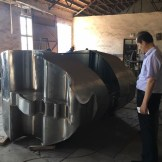 "Fabrication of ""Eternity"" by Yuroz large scale installation in China"
