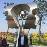 yuroz with eternity installation in china