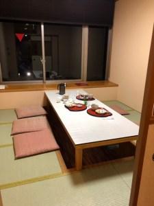 磯はなび 夕食 個室