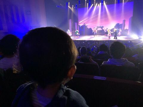 しまじろうコンサート 須坂市 座席からの写真