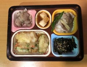 食卓便 魚介天ぷらと野菜のかき揚げ