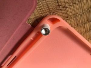 iPadケース ペンキャップ 収納