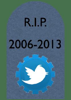 さようならTwitter API1.0、こんにちはTwitter API1.1。今後のデバッグはWebコンソールで!