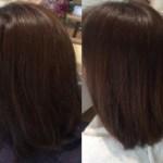 可児市美容院レアーリに通って頂けるお客様の髪質の変化