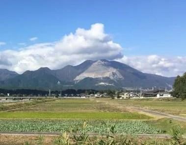 藤原岳全景