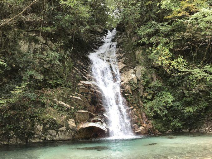竜ヶ岳の滝
