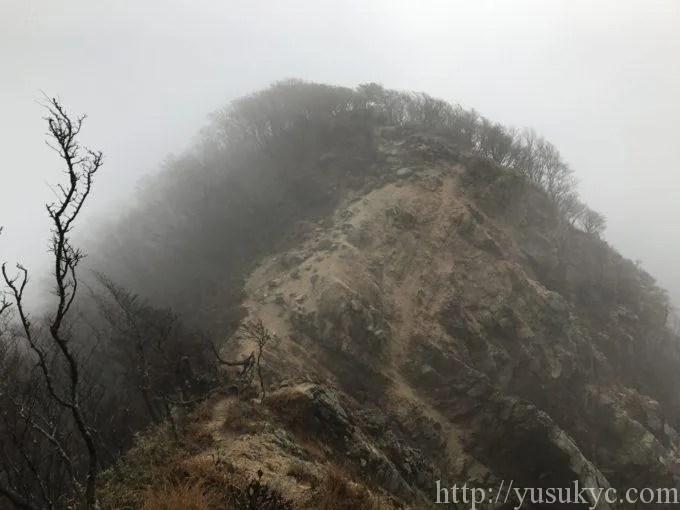 釈迦ヶ岳大ガレ