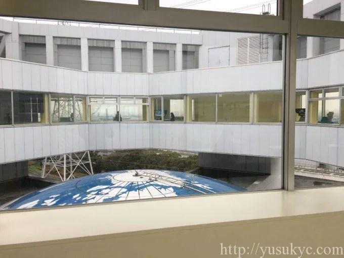 川越電力館テラ46川越展望サロン内側