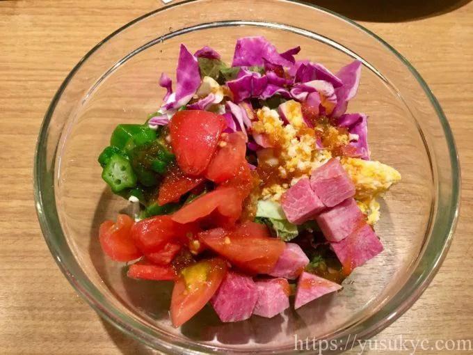 露庵のチョップドサラダ