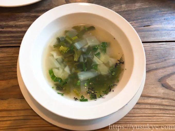 いなべイシオノのスープ