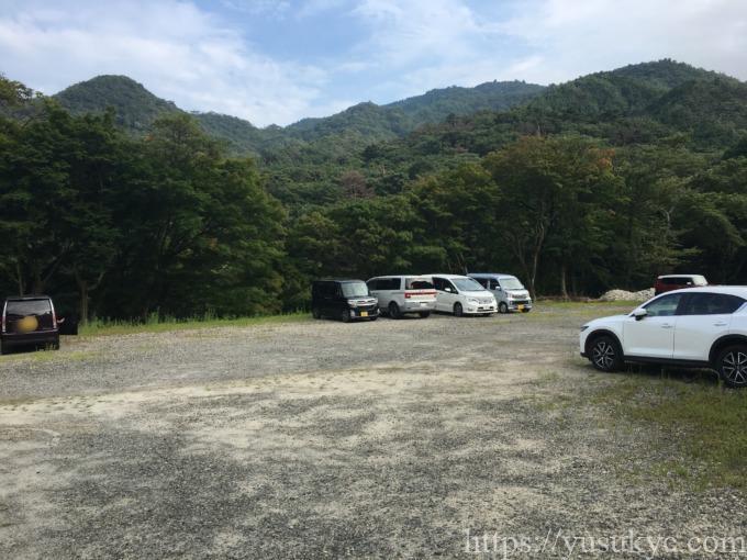 宇賀渓観光臨時駐車場