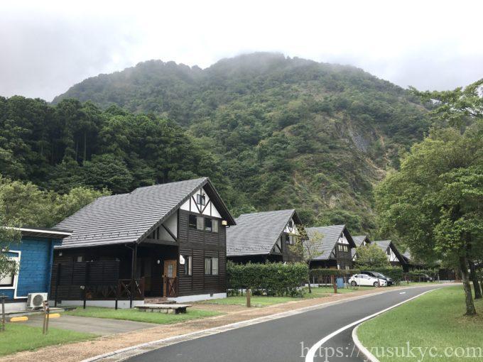 青川峡キャンピングパークのコテージ