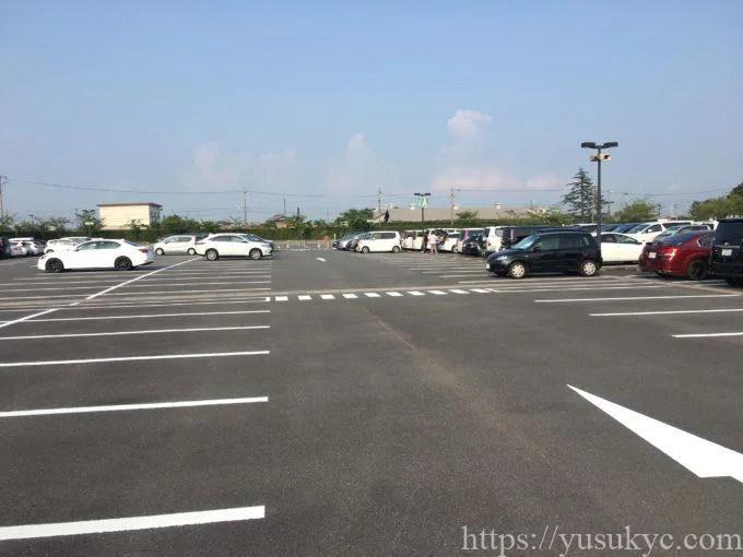 なばなの里駐車場