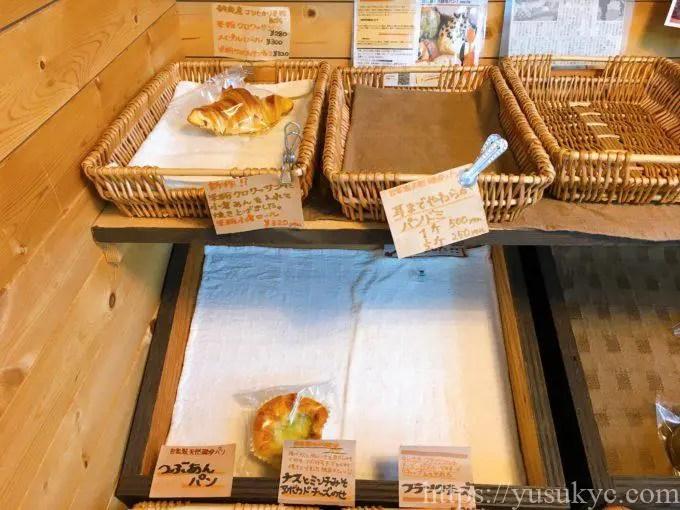 鈴鹿のパン屋さんIinsaide(アイインサイド)の店内