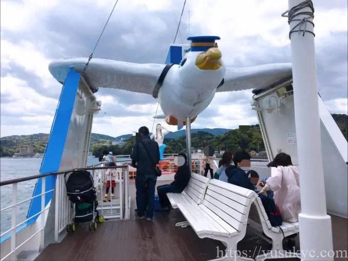 鳥羽イルカ島の遊覧船
