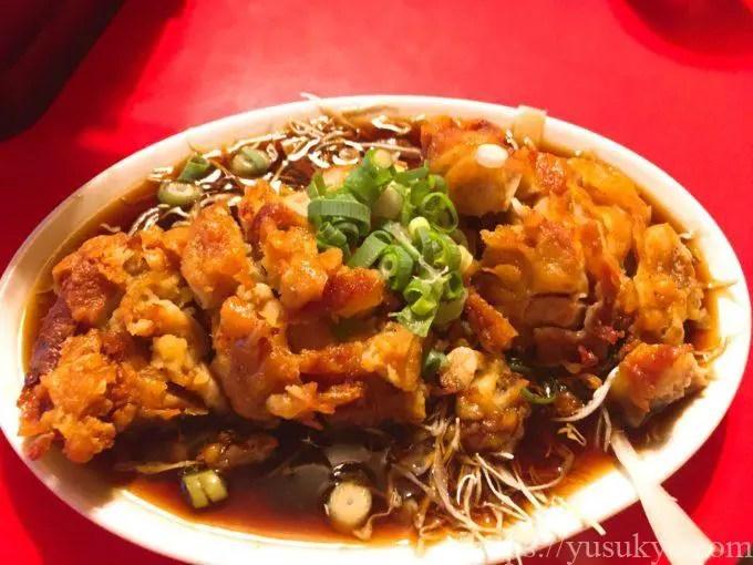 中華料理福州のメニュー(Cランチ)
