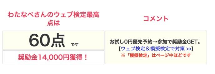 加藤将太さんウェブ検定