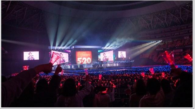 嵐 5x20ツアーの東京ドーム 11 月 29 日公演のレポ・セトリまとめ!ai
