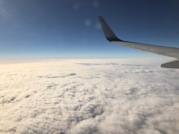 世界の飛行機窓から
